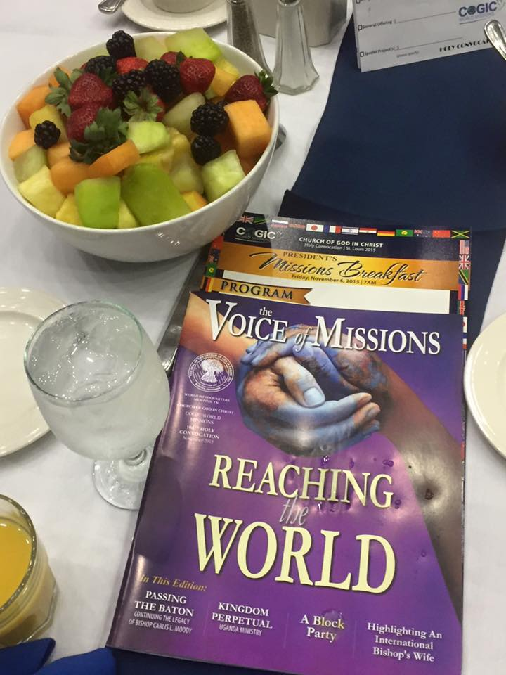missions breakfast