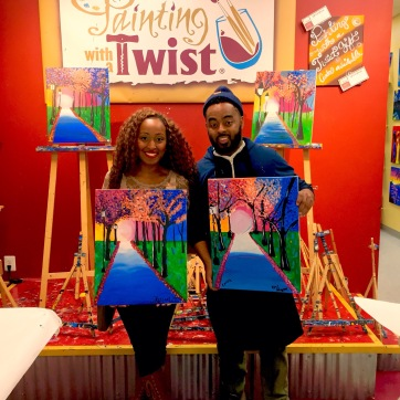 We checked out Painting with a Twist in New Jersey too. I had a blast! Vincent is the co-founder of Black Male Educators Convening (BMEC). If you are a Black male educator, or if you know one, be sure to find out more information on how to get involved here: https://www.facebook.com/The-Fellowship-1487395214894454/.