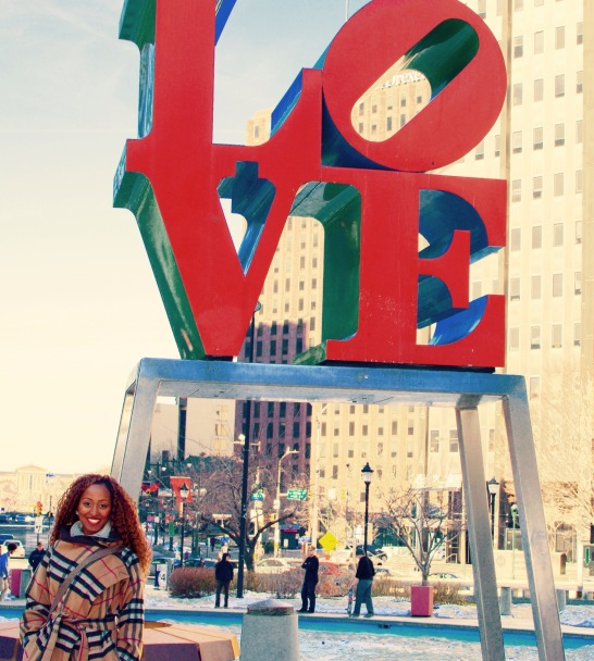 Made a stop at Love Park.